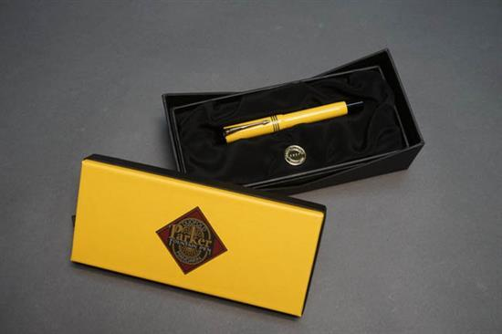 Parker Duofold 'Mandarin Yellow' Fountain Pen
