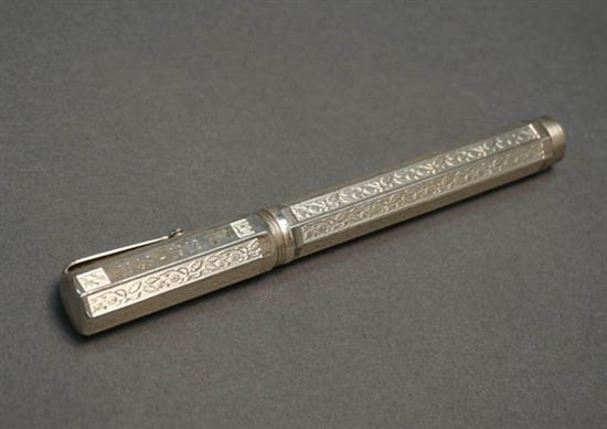 Montegrappa '80th Anniversary' Sterling Silver Fountain Pen