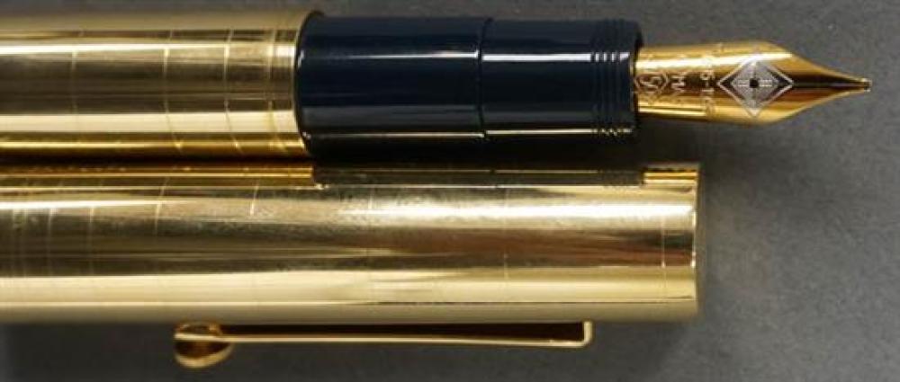 Omas 'Guglielmo Marconi, 100 Years of Radio' 18-Karat Yellow-Gold Fountain Pen