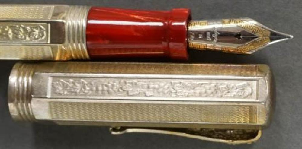 Montegrappa 'Special Reserve 1996' Sterling Silver Fountain Pen