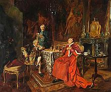 Bernard Louis Borione (French 1865-?), Checkmate