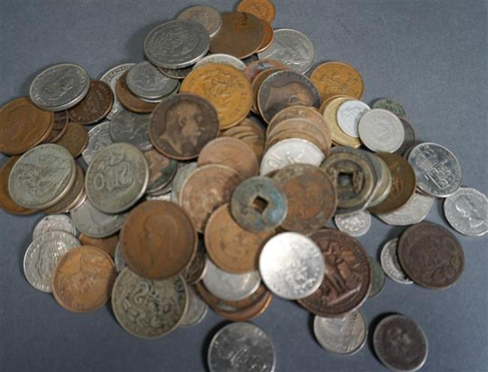 Group with Foreign Coins