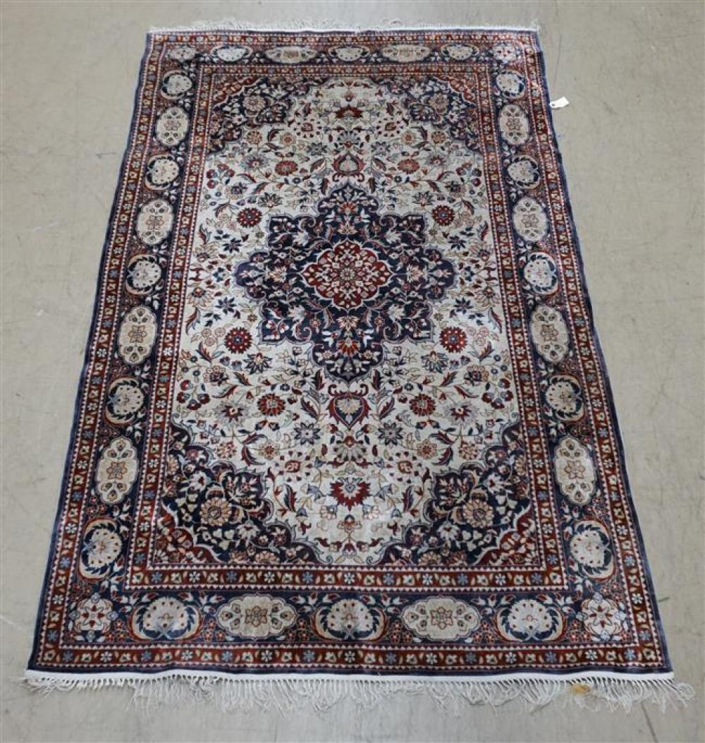Chinese Tabriz Rug; 8 ft 1in x 5 ft