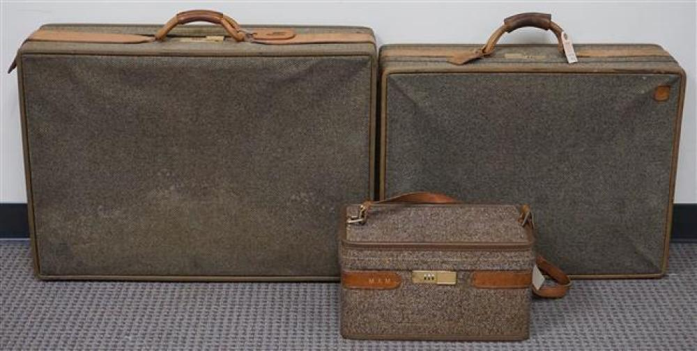 Three Pieces of Luggage by Hartmann