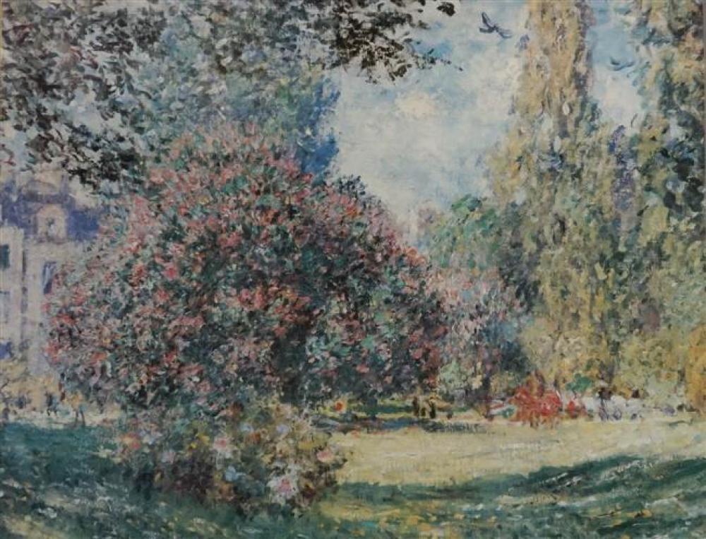 Landscape, Framed Offset Print, 32 x 38 inches