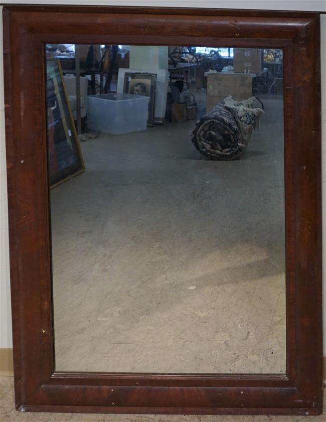 Mahogany Frame Mirror