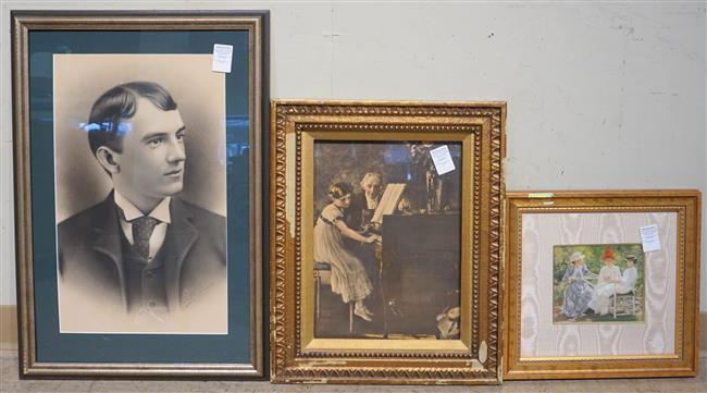 Three Assorted Framed Prints