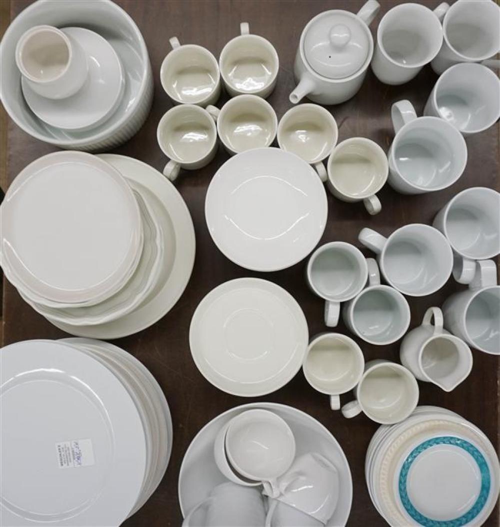 Assembled Porcelain and Ceramic Dinner Service