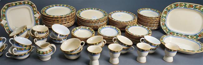 Adams Titianware Della Robin Dinner Service