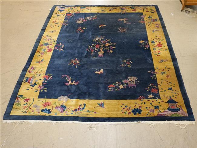 Chinese Peking Rug, 11 ft 8 in x 9 ft 3 in