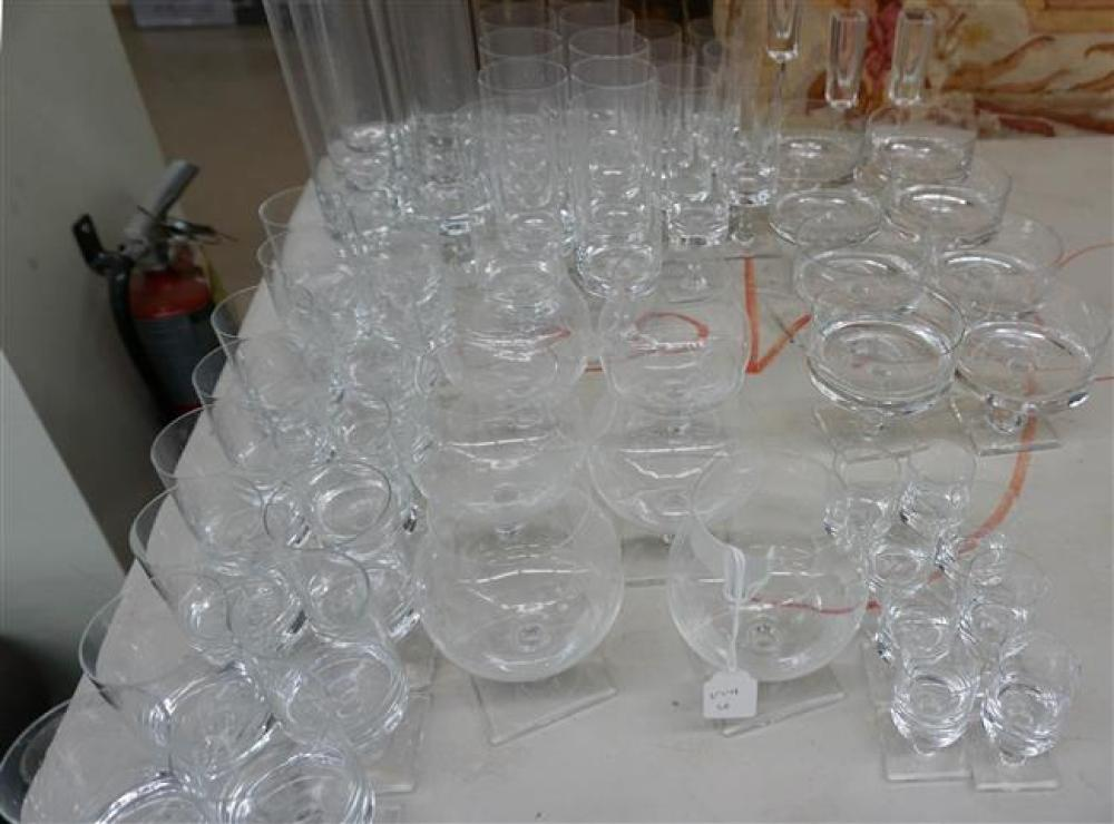 Rosenthal Crystal Stem Table Service, Sixty Four Pieces