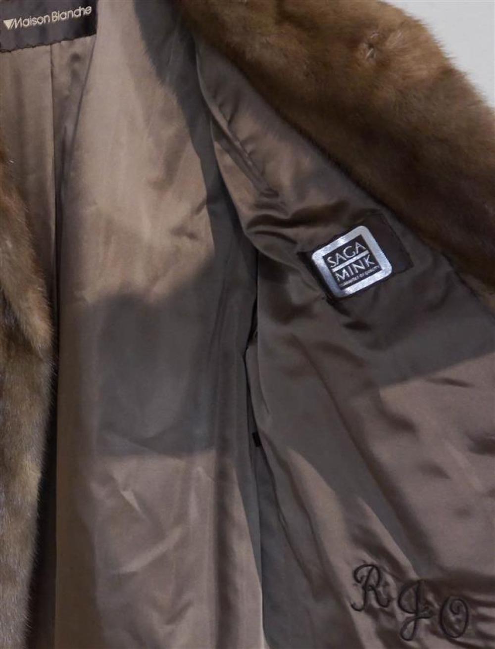 Maison Blanche Hazel Mink Jacket