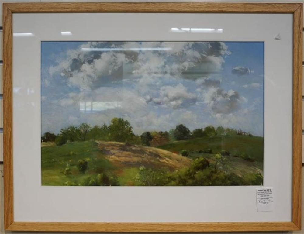 Anne M. Fleming, Rockville Farm, 1988, Watercolor; Framed: 19.25 x 25 Height by Width Inches