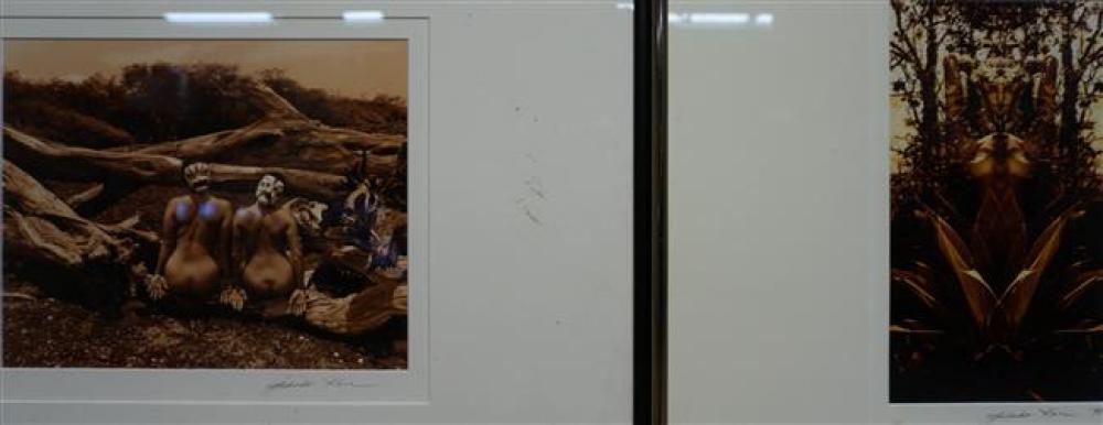 Takako Kare, Hilo Hawaii, Two Photographs
