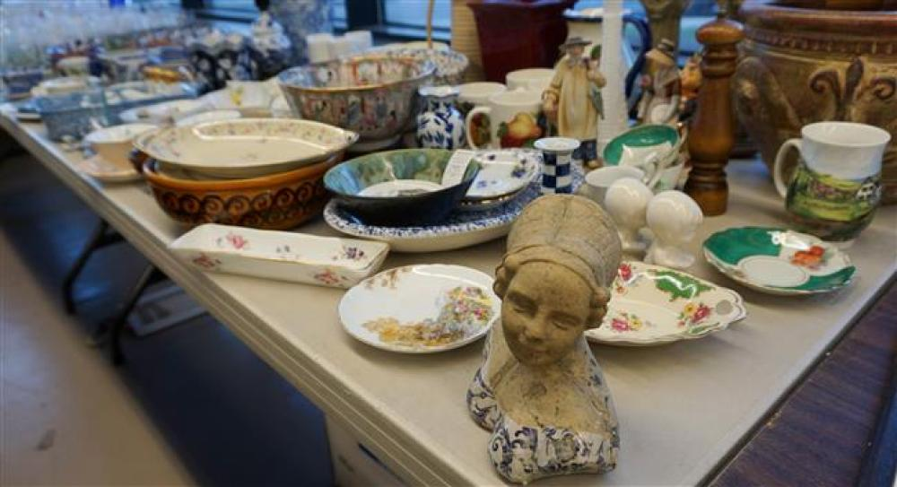 Collection of Porcelain and other Table Articles
