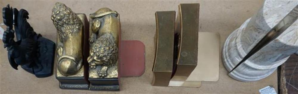 Four Pairs Assorted Bookends