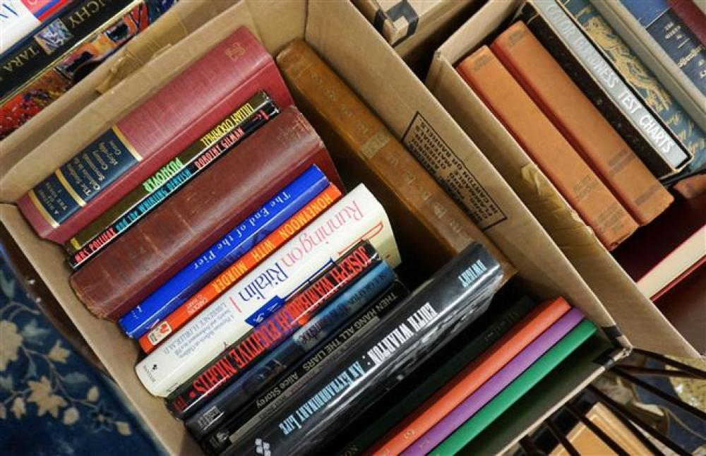 Library of Books (Five Boxes)