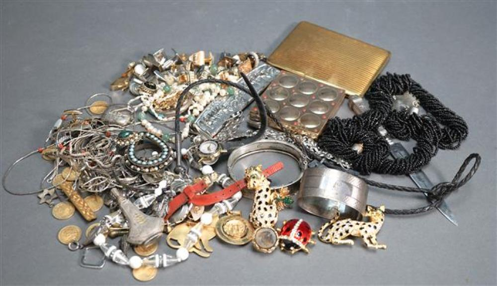 Collection of Silver and Costume Jewelry