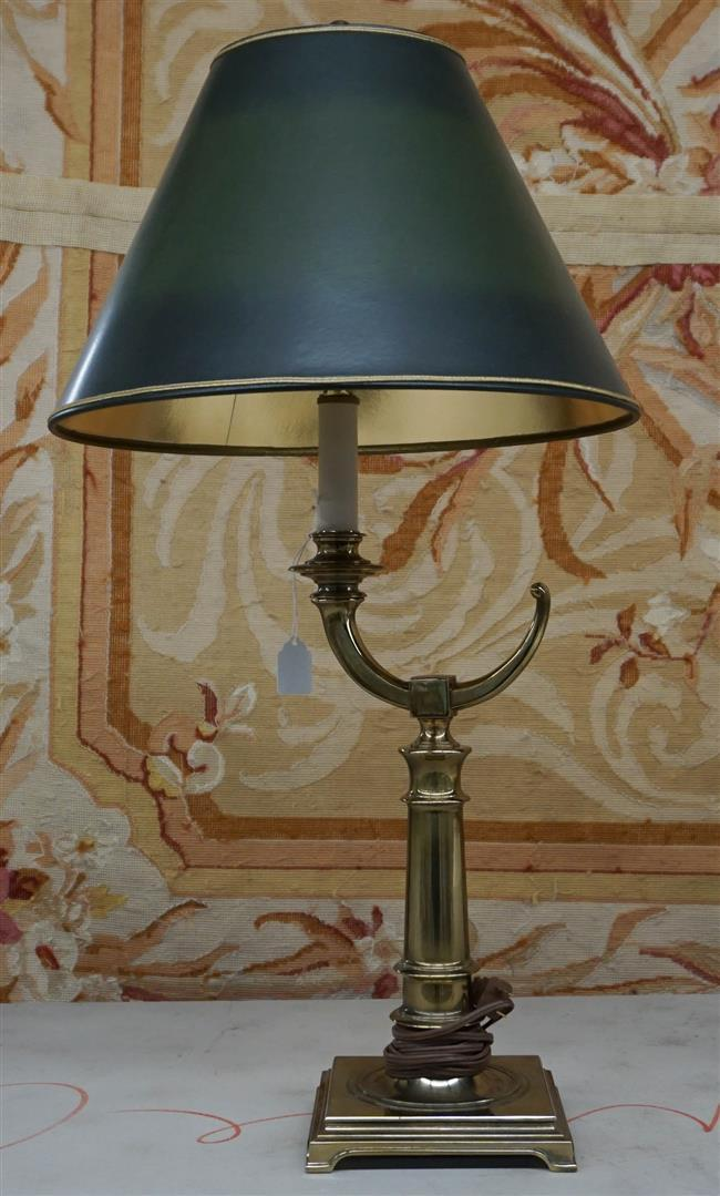 Stiffel Brass Table Lamp, Height overall: 28 in
