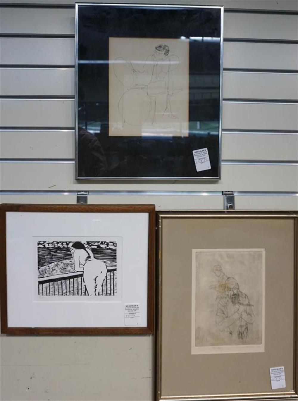 Three Contemporary Works of Art