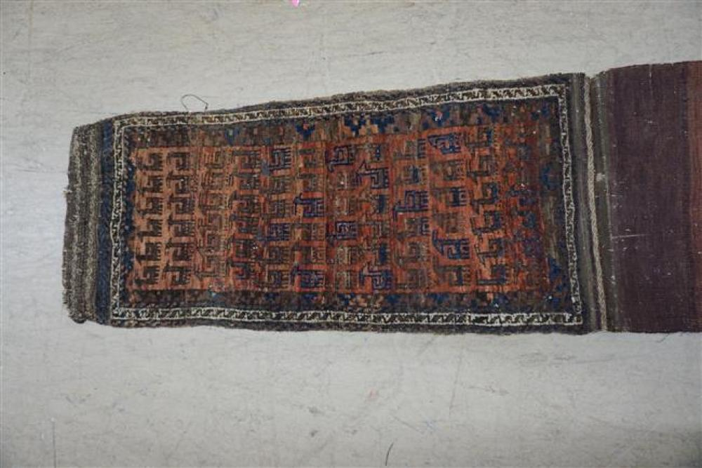 Shiraz Bag Face, Overall Size: 6 ft 2 in x 1 ft 4 in
