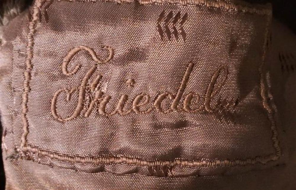 Brown Seal Fur Coat; Friedel label