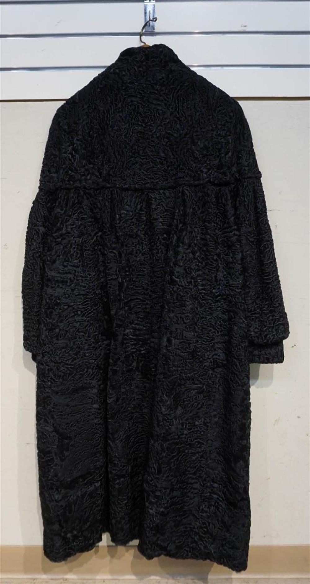 Sheared Lamb Fur Coat; Herbst Koln label