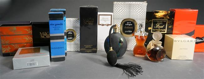 Collection with Assorted Perfumes