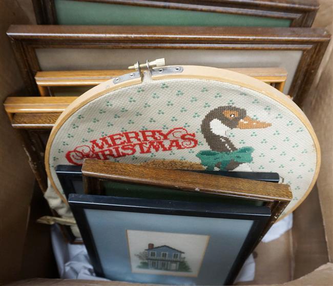 Ten Needlework Pictures
