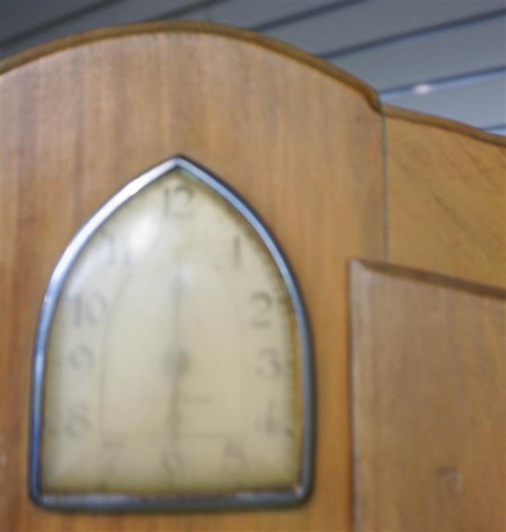 Keystone Walnut and Formica Hoosier Cabinet, H: 75 in, W: 40 in, D: 25 in