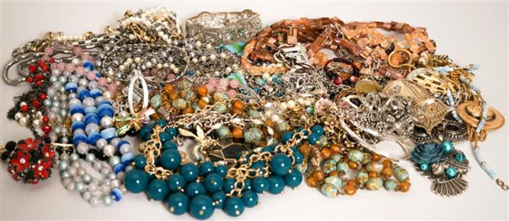 Collection with Costume Jewelry