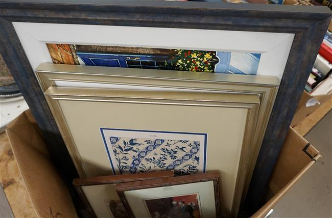 Collection of a Giclee, Watercolor and Three Color Prints
