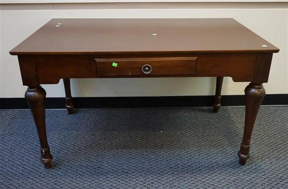 Thomasville Mahogany Finnish Table Desk; 30 x 52 x 30 HWD Inches