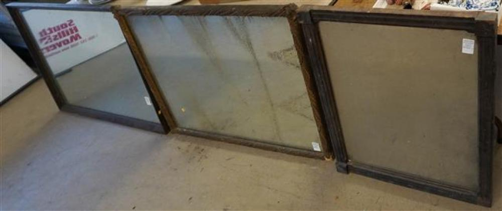 Three Framed Mirrors