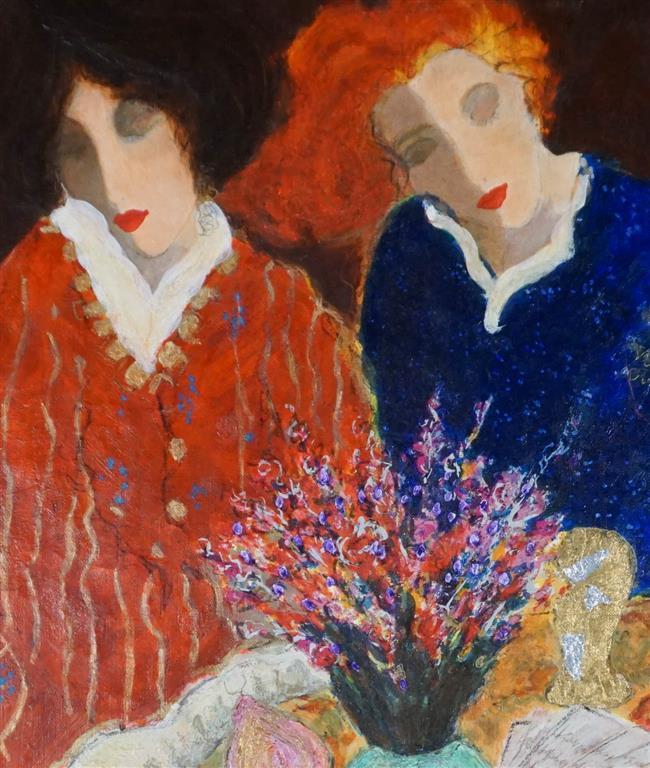 Roy Fairchild-Woodard, 'Bright Colors', Giclee, Unframed: 24-7/8 x 18-3/4 in