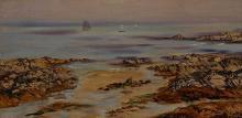 John Brett (British 1830-1902), On the South Coast of England