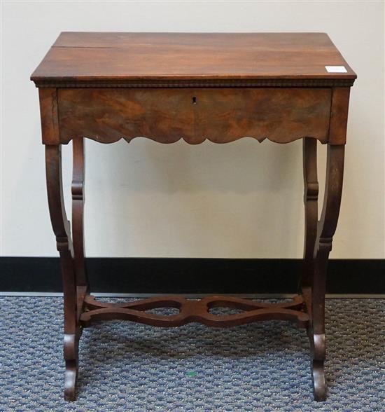 Victorian Mahogany Sewing Table
