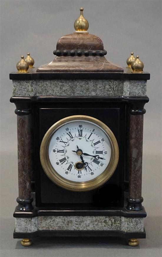 Marble and Slate Mantel Clock