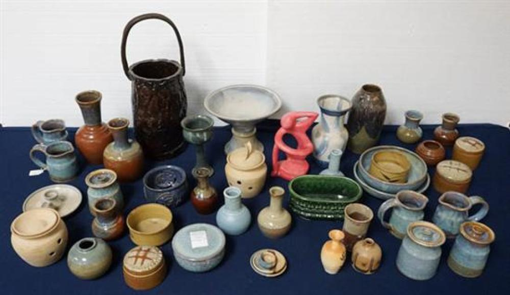 Group of Assorted Art Pottery