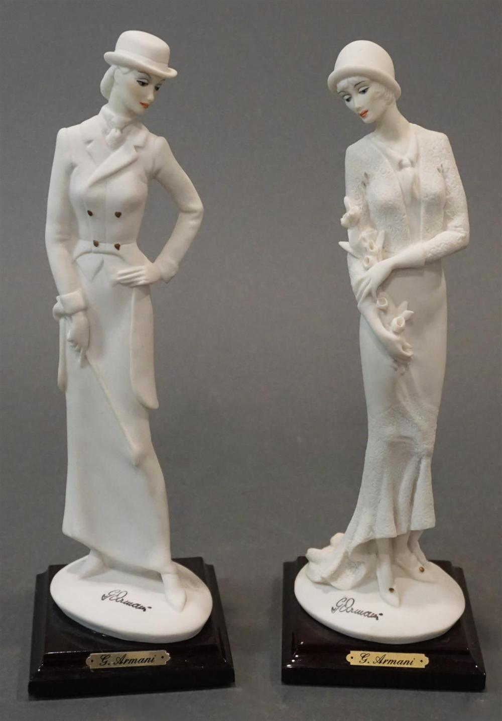 Two Giuseppe Armani for Florence Figurines, Height: 10 in