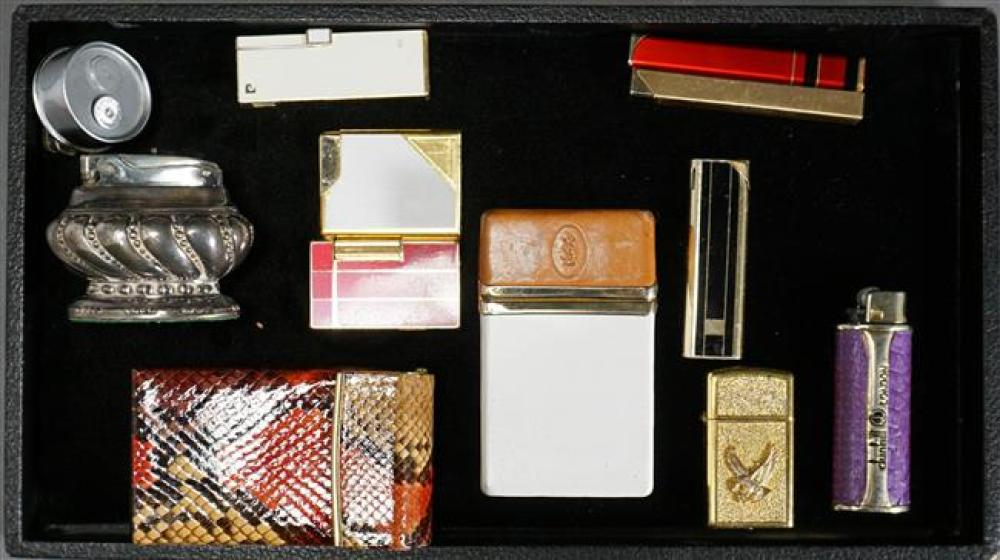 Collection with Lighters and Smoking Accessories