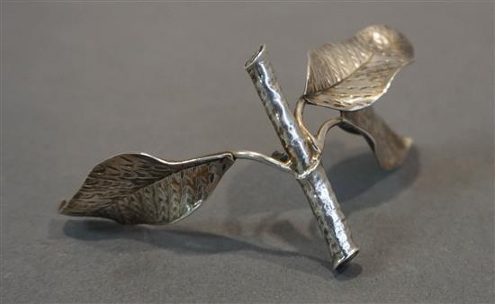 Federico Buccellati Sterling Silver Table Ornament