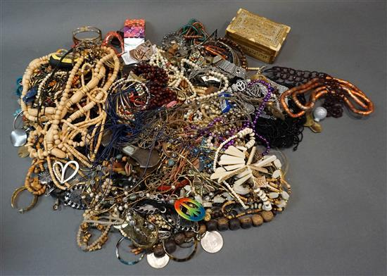 Collection of Beaded and other Costume Jewelry