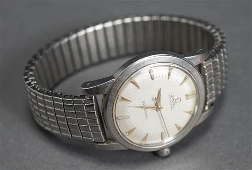 Gentleman's Omega Seamaster Stainless Steel Wristwatch, Serial number 13235106, Circa 1950s (Needs Servicing)