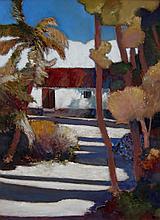 H.E. Kuckein Courtyard, Cuba