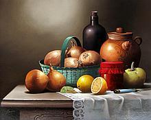 Victor Santos Onions in a Basket