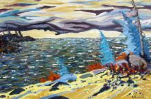 Robb Dunfield - Coastal Landscape
