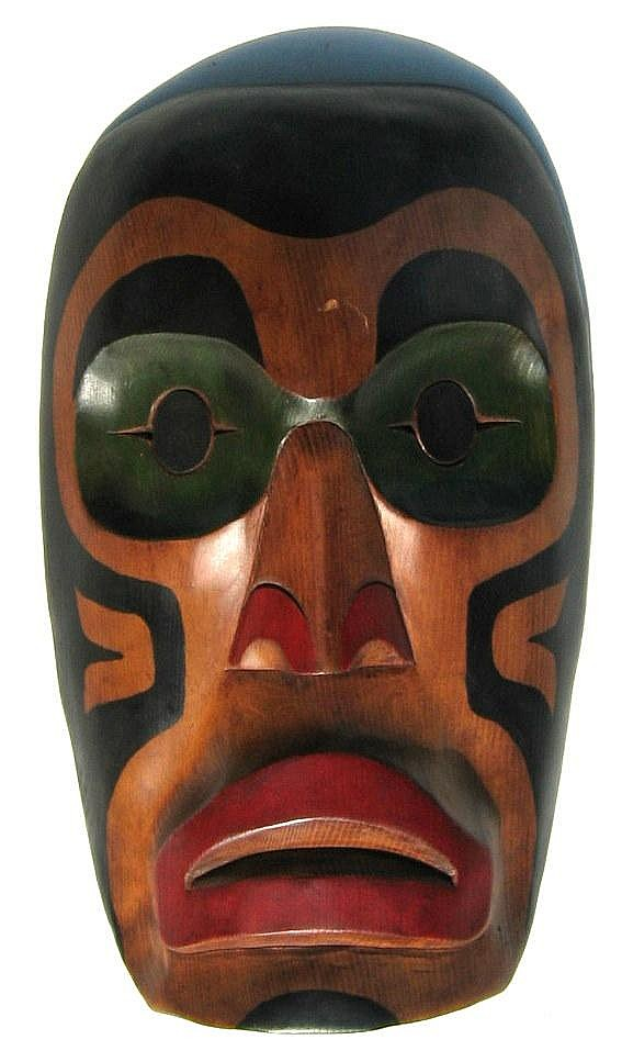 Peter August West Coast Mask - Squamish, B.C.