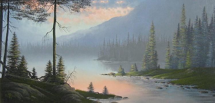 Roger Arndt, Idylic Coastal Landscape