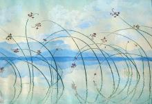 Eva Roemer - Reeds in a Seascape